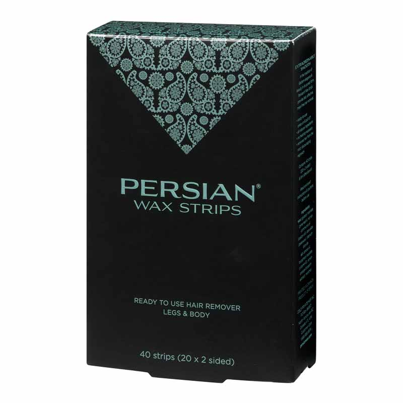 Persian Cold Wax Strips - 40's