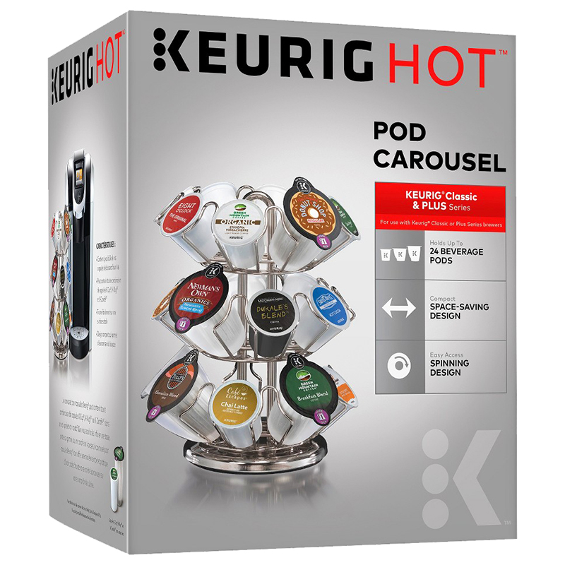 Keurig Plus Series Carousel - Chrome