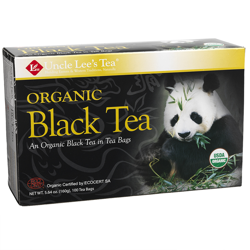 Uncle Lee's Organic Black Tea - 100's