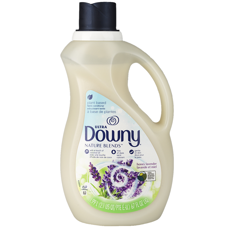 Ultra Downy Nature Blends Plant-Based Fabric Conditioner - Honey Lavender - 1.99L