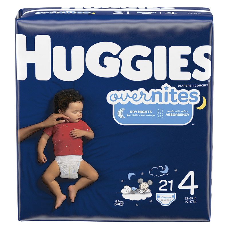 Huggies Overnites Diapers - Size 4 - 21's
