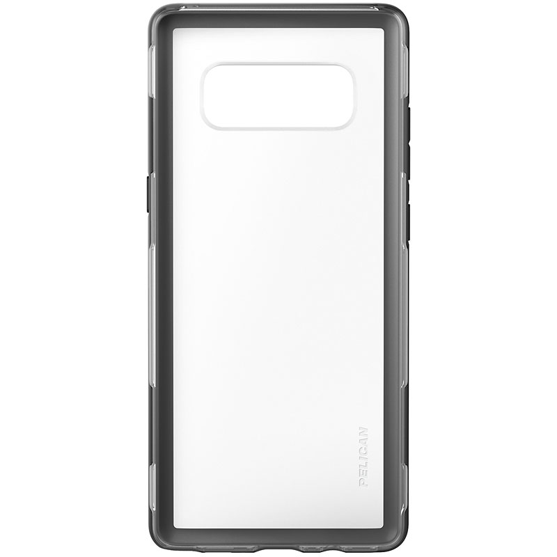 Pelican Adventurer Case for Samsung Galaxy Note 8 - Clear/Black - C34100001ACLBK