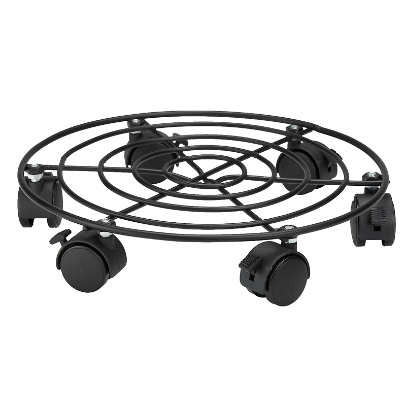 London Drugs Metal Plant Trolley with 6 wheels - 12 inch
