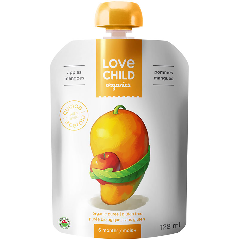 Love Child Apples Mangos - 128ml