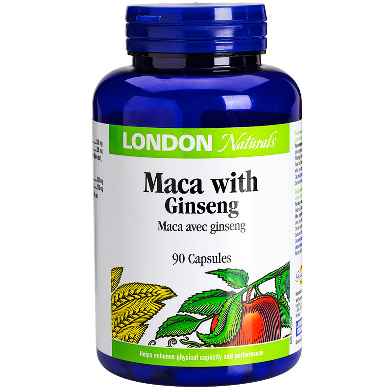 London Drugs Naturals Maca with Ginseng -90's