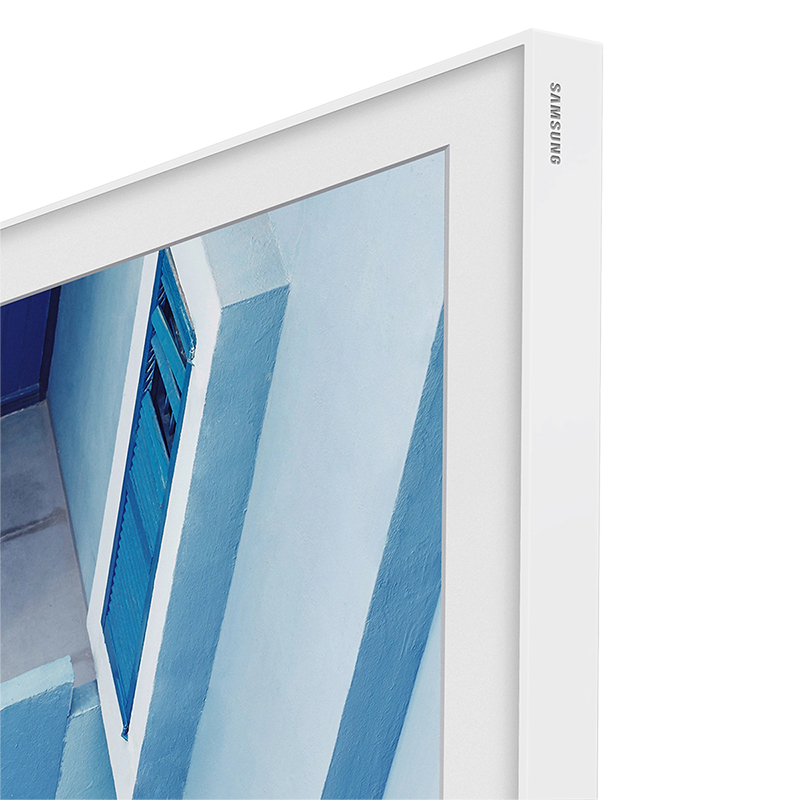 Samsung 55-in The Frame Customizable Bezel - White Metal - VG-SCFM55WM/ZA