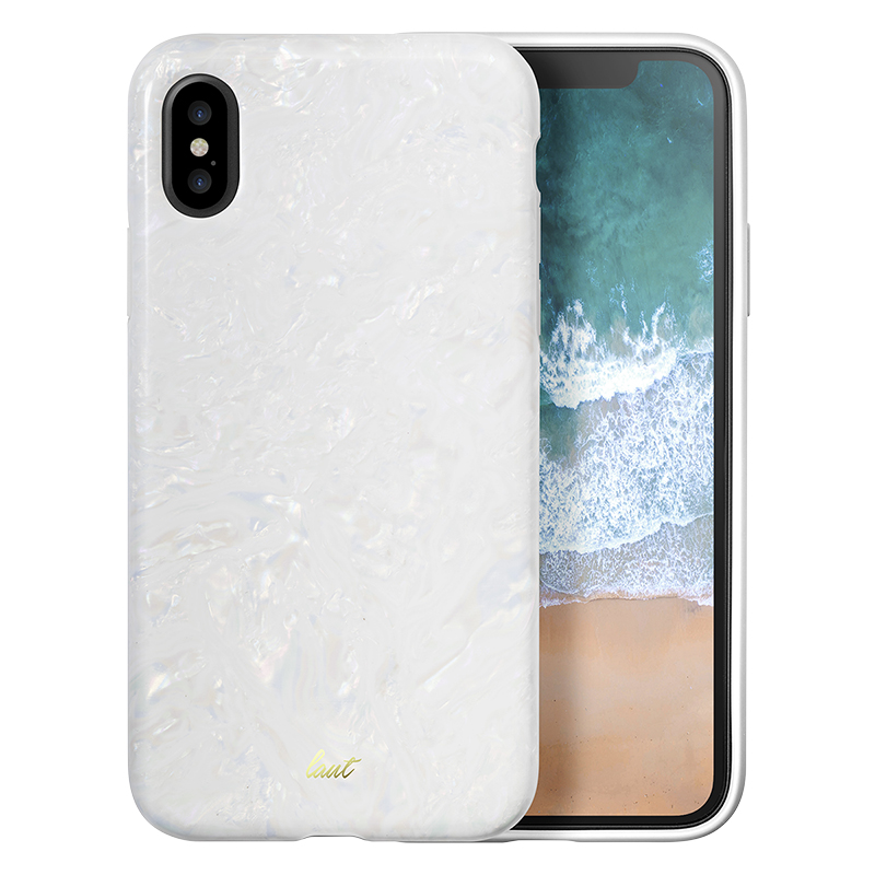 Laut Pop Fashion Case for iPhone X - Arctic Pearl - LAUTiP8POPPL