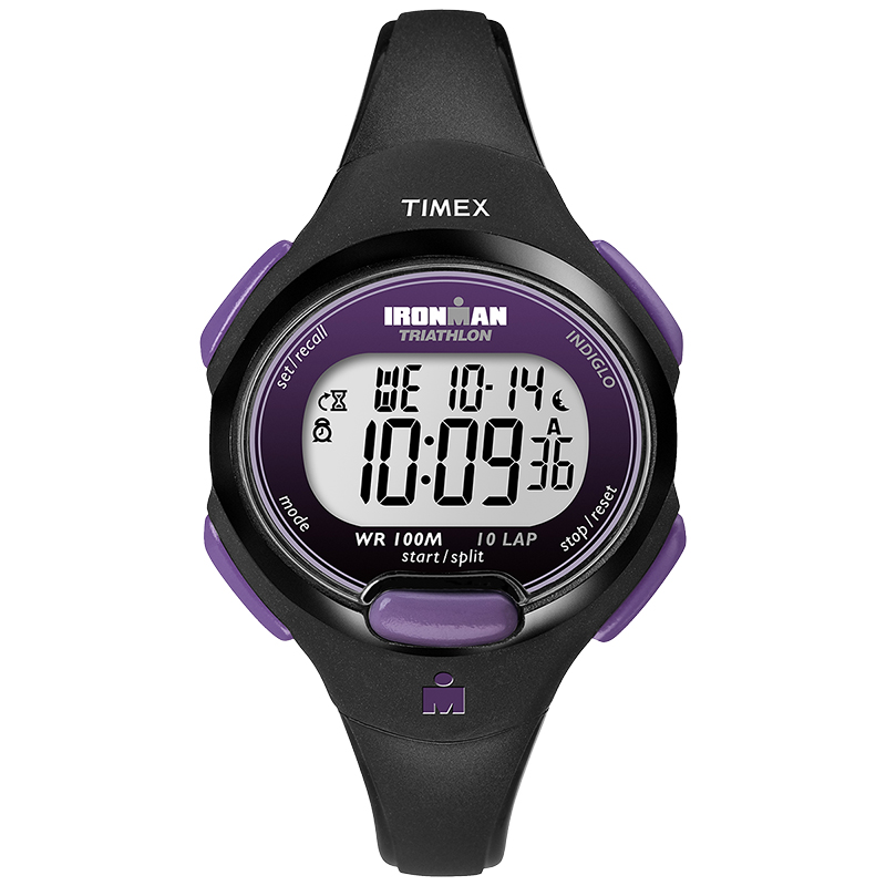 Timex Ironman Watch - Black/Purple - T5K523GP