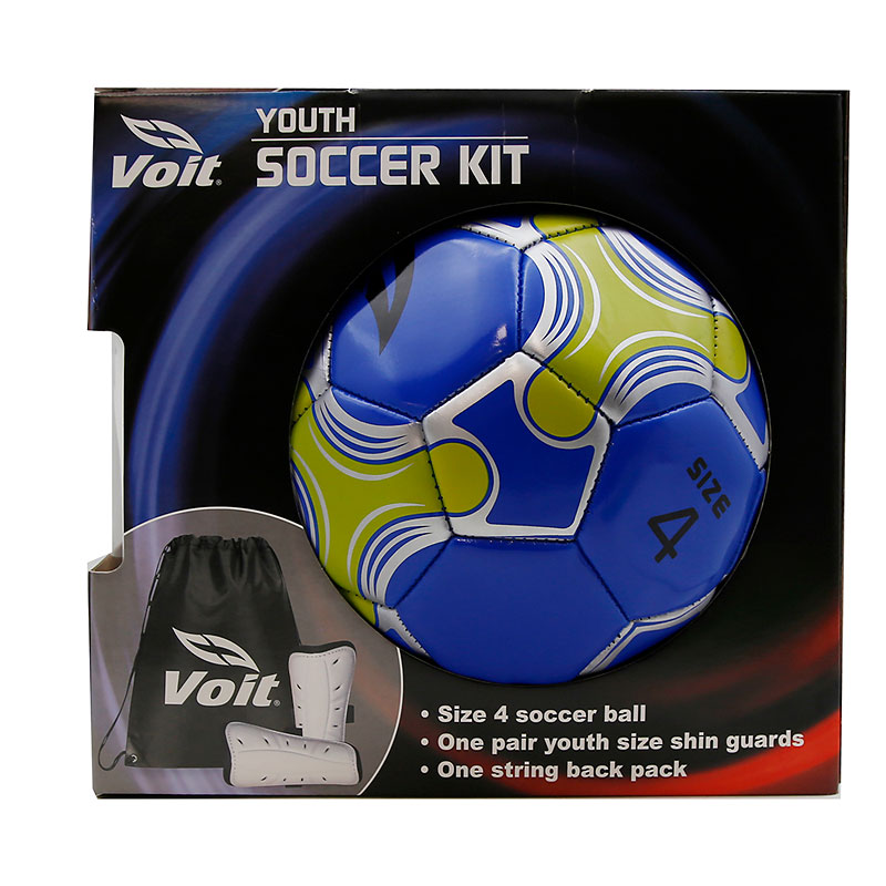 Soccer Kit with Ball and Shin Guards