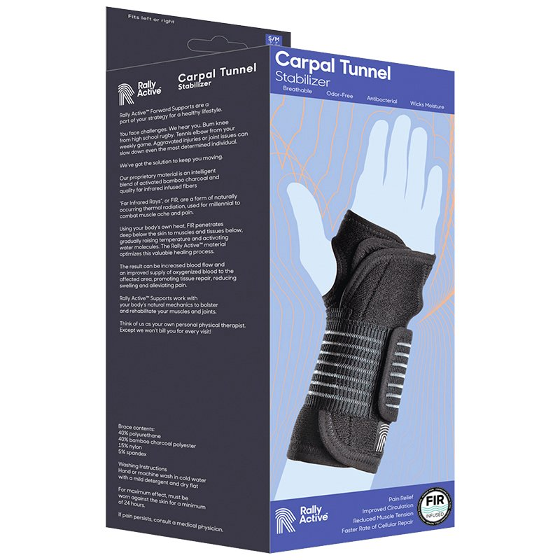 Rally Active Carpal Tunnel Stabilizer - Small/Medium