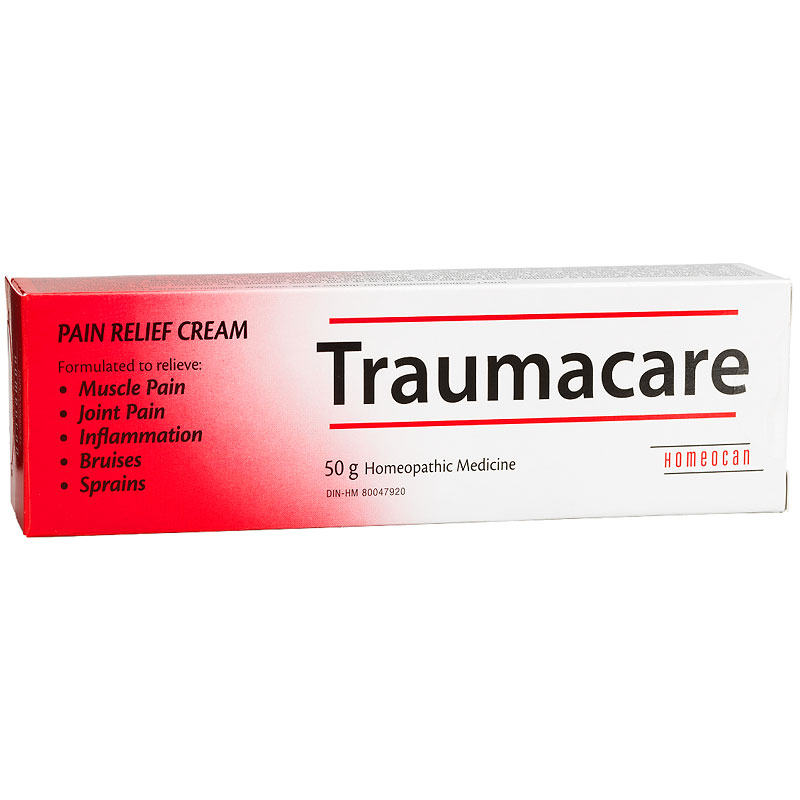 Homeocan Traumacare Pain Relief Cream - 50g