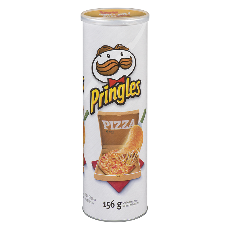 Pringles Potato Chips - Pizza - 156g