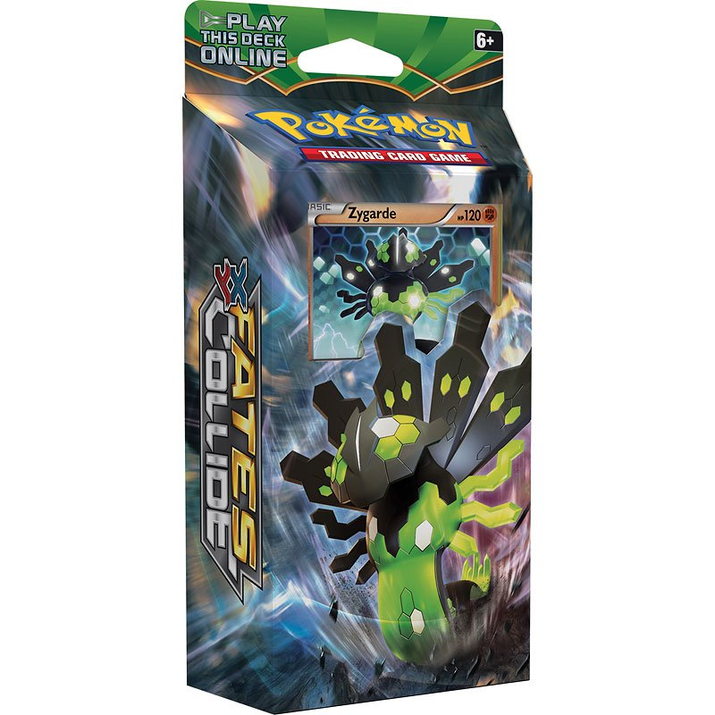 Pokemon XY10 - Fates Collide Deck - Assorted