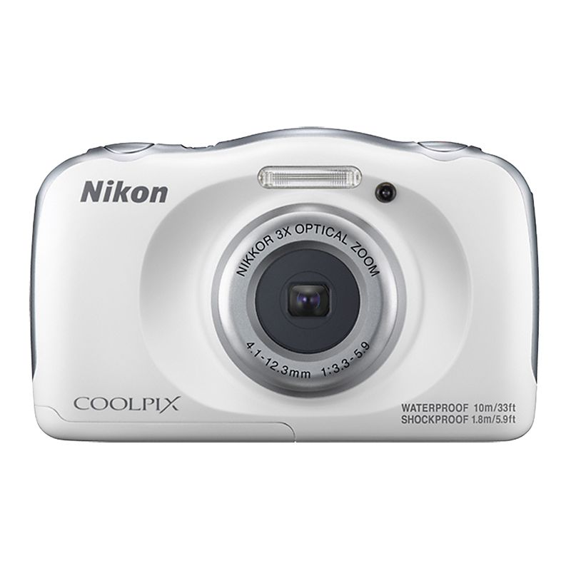 Nikon Coolpix W100 - White - 32365