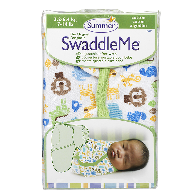 Summer Infant SwaddleMe Cloth - 7-14 lbs