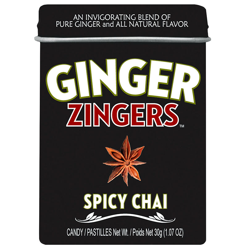 Ginger Delights Candy - Spicy Chai - 30g