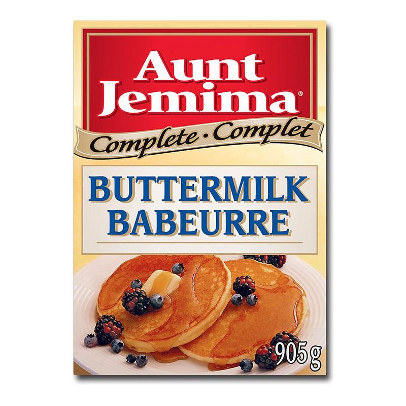 2c03028bb81 Aunt Jemima Complete Buttermilk Pancake Mix - 905g