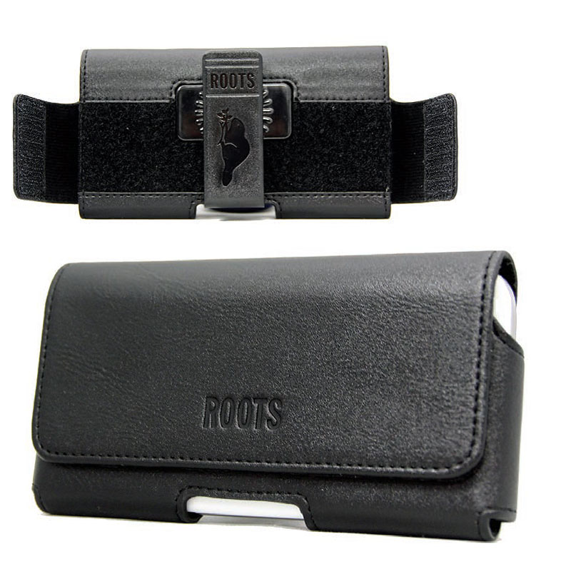 Roots Adjustable Holster For Large Phones - Black - R30HLBK