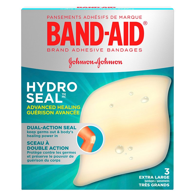 Band-Aid Hydro Seal Advanced Healing - Extra Large Bandages - 3's