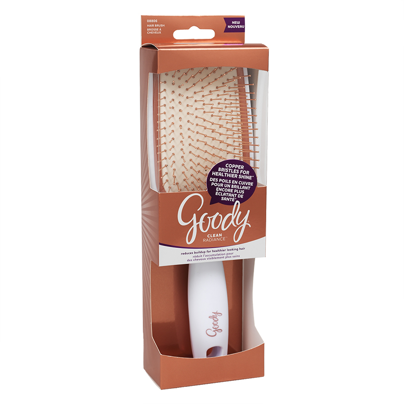 Goody Clean Radiance Paddle HairBrush - 8806