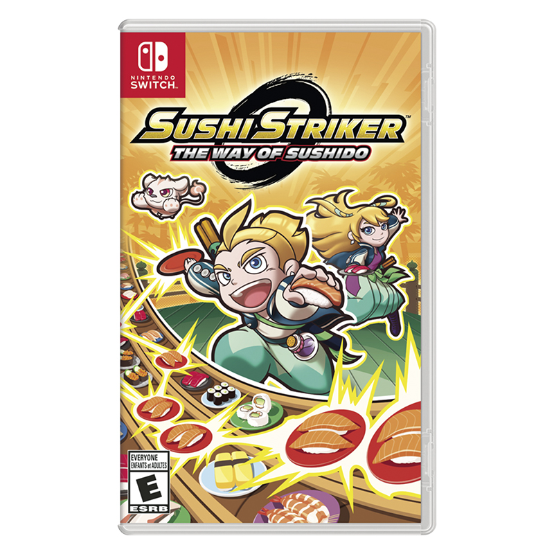 Nintendo Switch Sushi Striker - The Way of Sushido