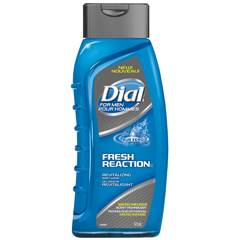 Dial for Men Fresh Reaction Revitalizing Body Wash - Sub Zero - 473ml