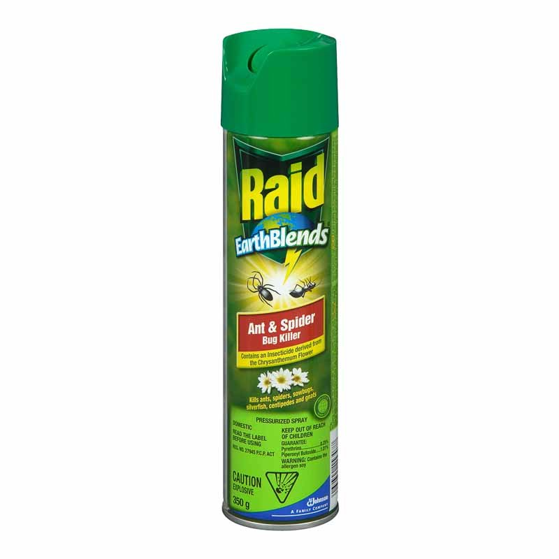 Raid EarthBlends Ant & Spider Bug Killer - 350g