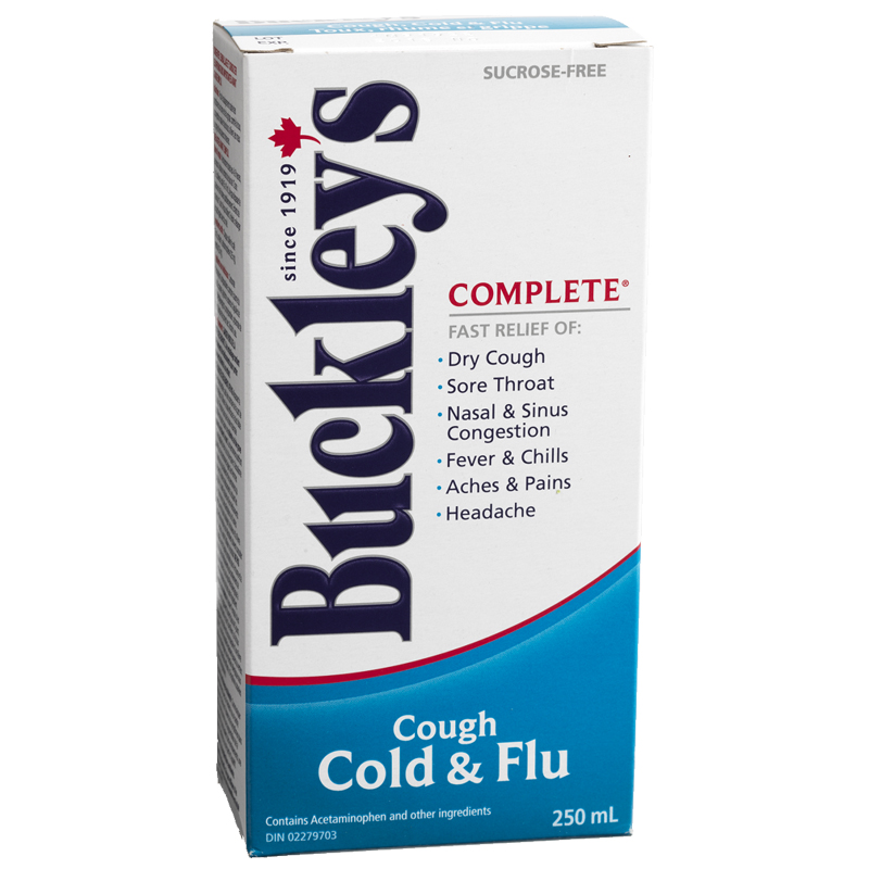 Buckley's Complete Cough Cold & Flu Liquid - 250ml
