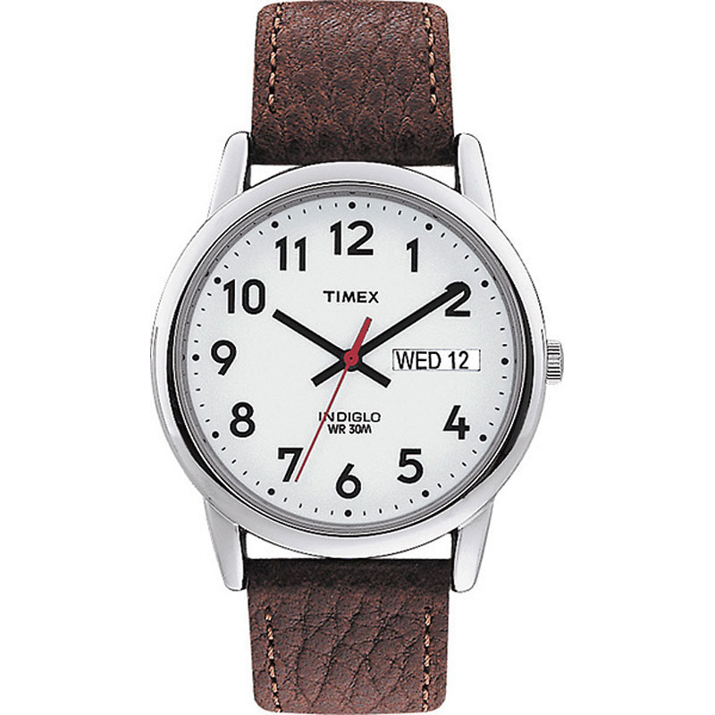 Timex Classics Men's Watch - Silver/Brown - 20041