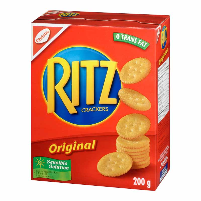 Christie Ritz Bits Crackers - 200g