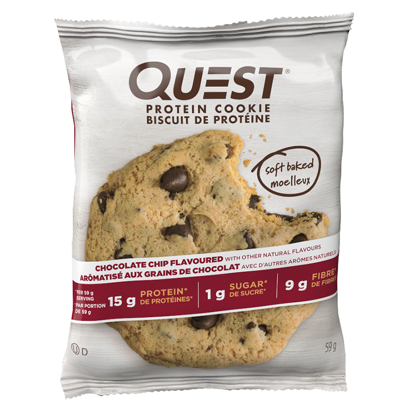 Quest Protein Cookie - Chocolate Chip - 59g