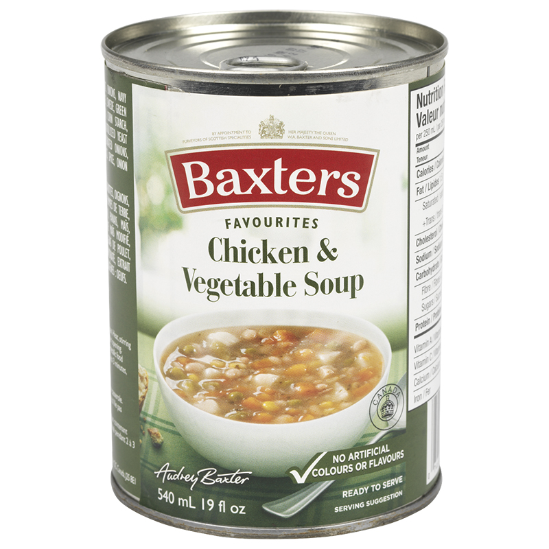 Baxter's Soup - Chicken & Vegetable - 540ml