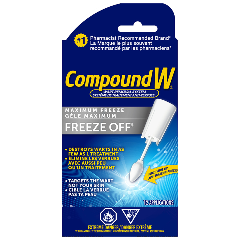 Compound W Freeze Off Wart Removal System - 12 applicators