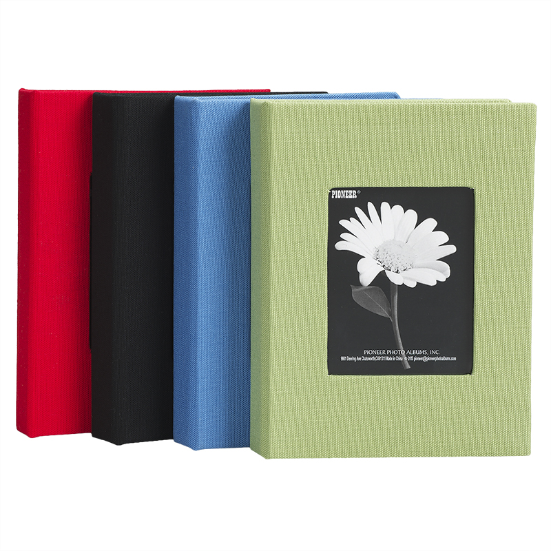 Pioneer Cloth Frame Album - Assorted Colours