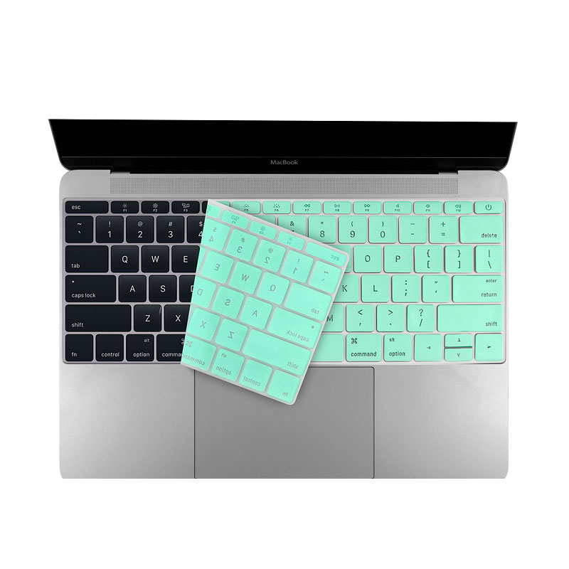 Logiix Phantom Keyboard Shield - MacBook 12 and Pro 13 - Turquoise - LGX-12763
