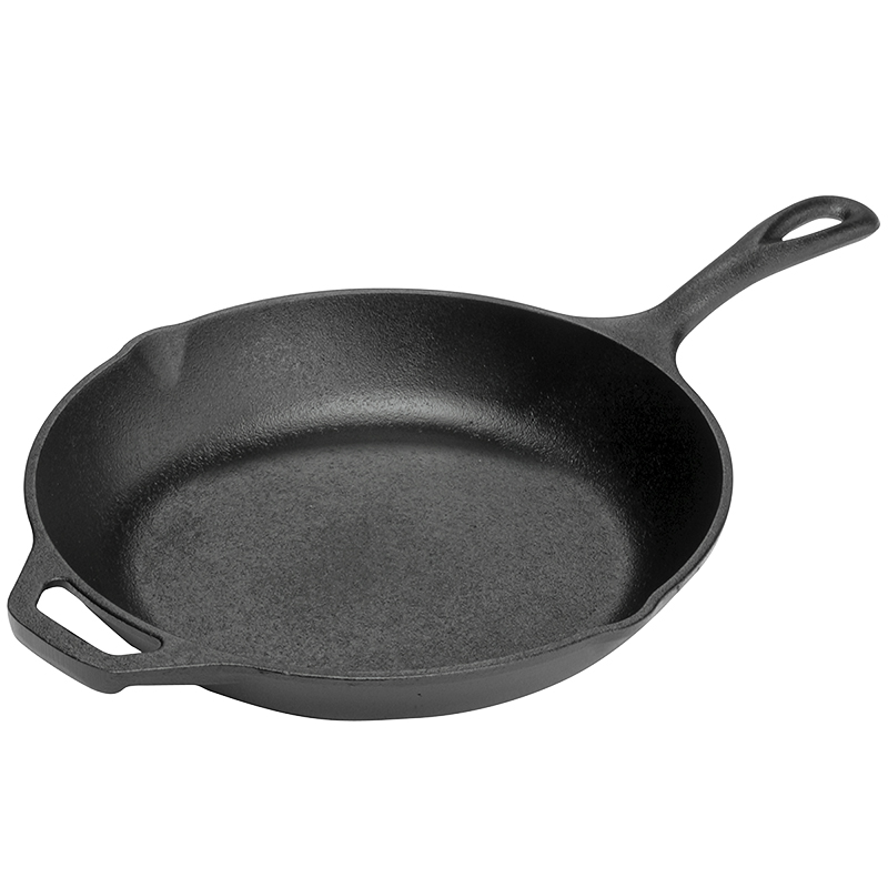 Lodge Cast Iron Chef Skillet - Black - 10inch
