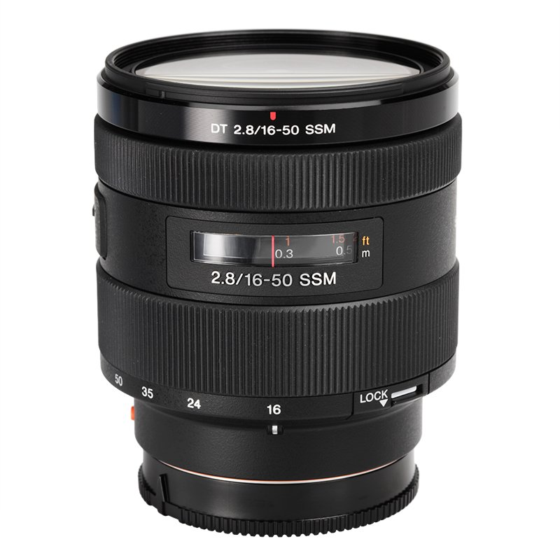 Sony 16-50mm f/2.8 Standard Zoom Lens - SAL1650 - Open Box Display Model