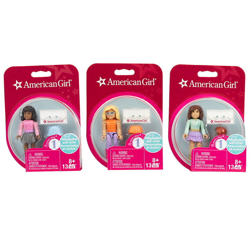 Mega Bloks American Girl Collectable Figure - Assorted