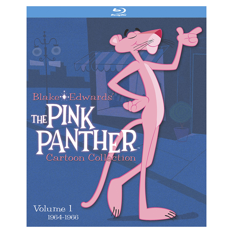 The Pink Panther Cartoon Collection: Volume 1 - Blu-ray