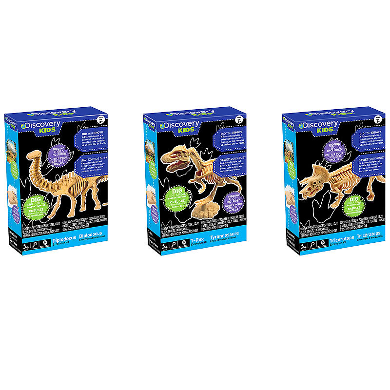 Discovery Kids Dig-A-Dino - Assorted