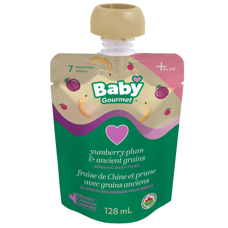 Baby Gourmet Baby Food - Yumberries & Plum - 128ml