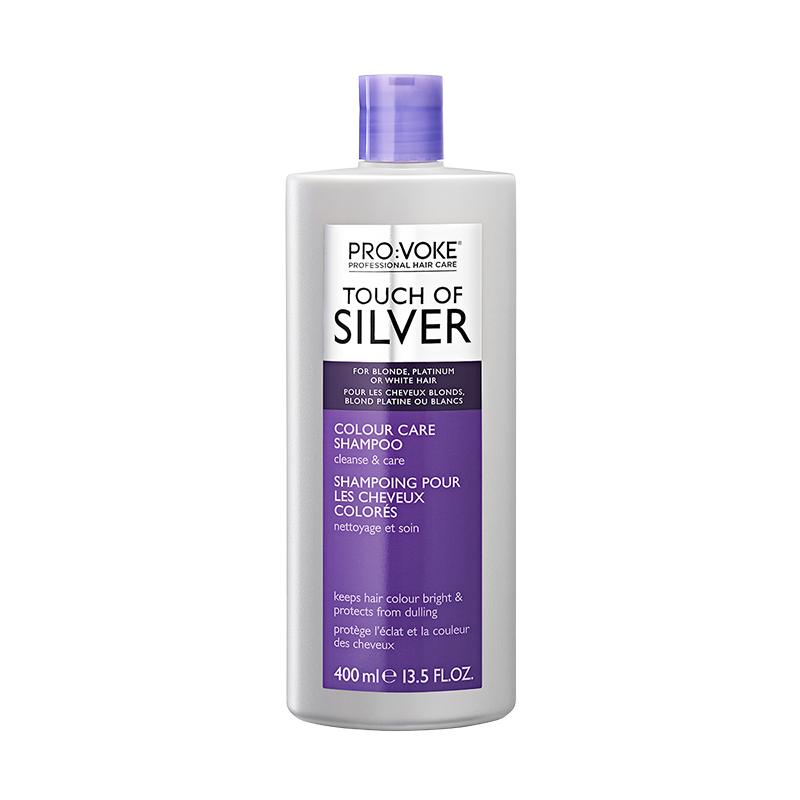 Pro Voke Touch of Silver Colour Care Shampoo - 400ml  4f494db10dd8