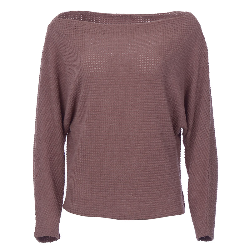 Lava Waffle Knit Top - Dusty Rose - Assorted