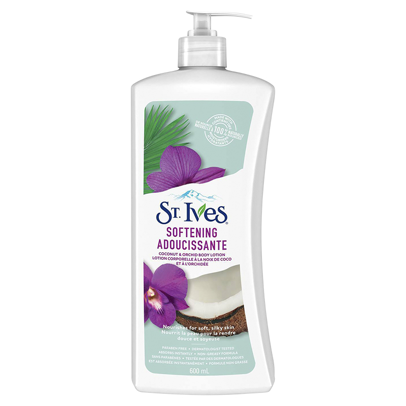 St. Ives Naturally Indulgent Body Lotion Coconut Milk & Orchid - 600ml