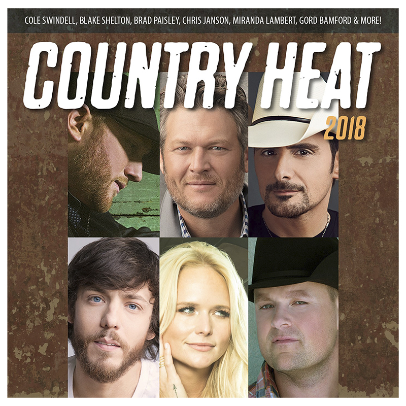 Various Artists - Country Heat 2018 - CD