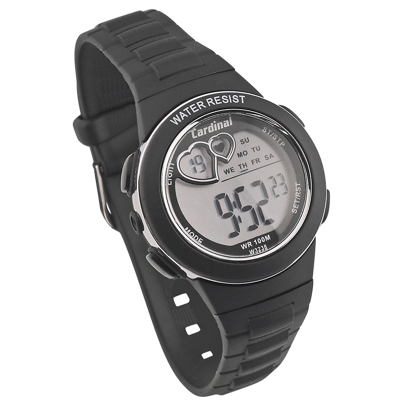 Cardinal Ladies Hearts Watch - Black - 3238