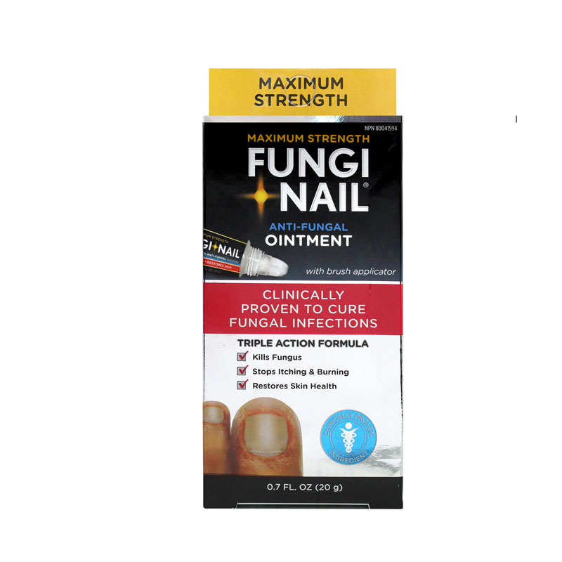 Fungi Nail Toe & Foot Ointment - Maximum Strength - 20g | London Drugs