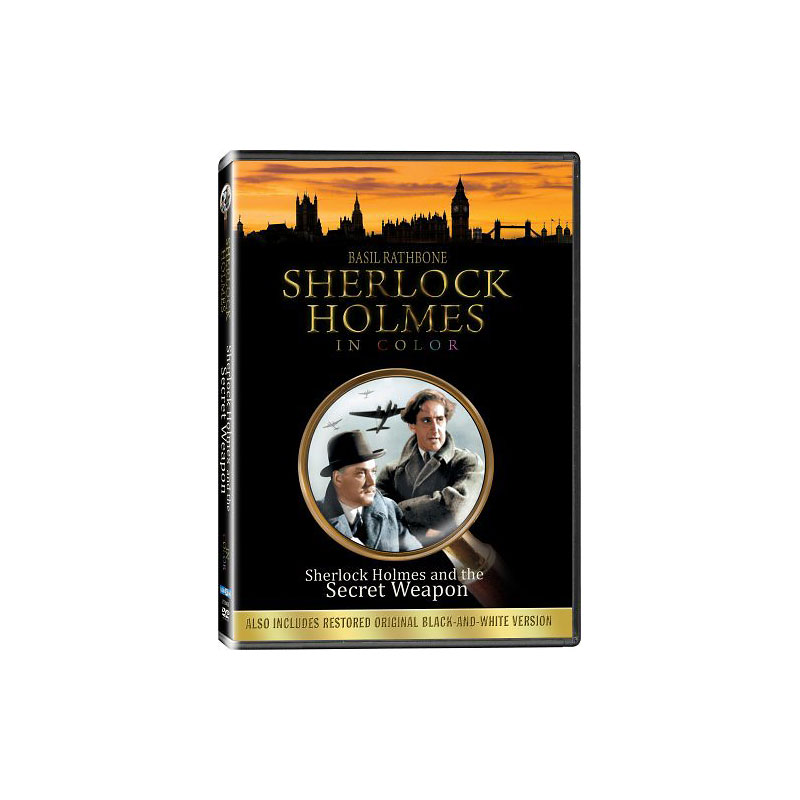 Sherlock Holmes and the Secret Weapon - DVD