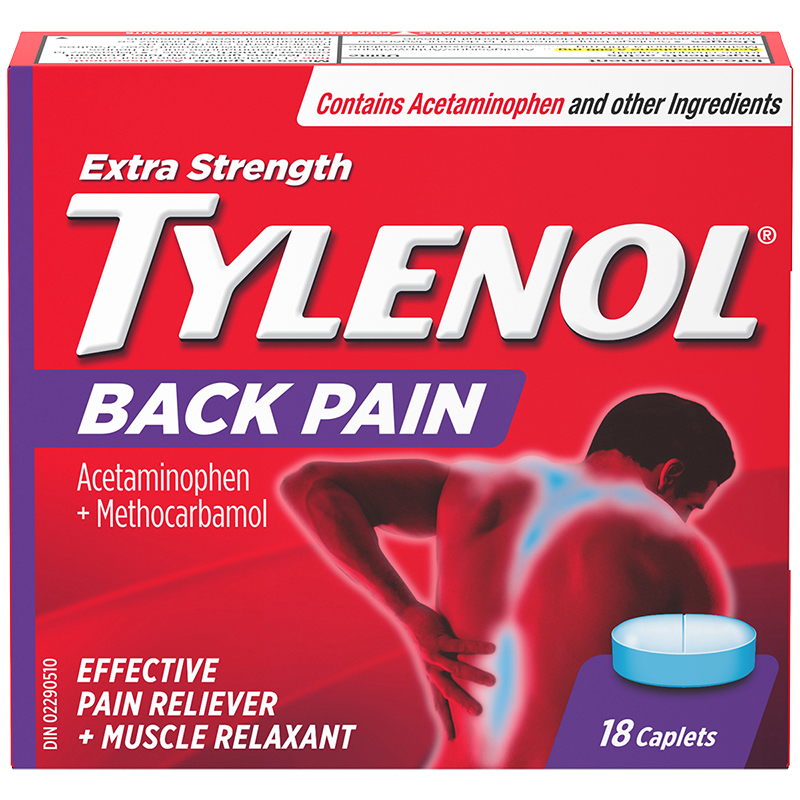 Tylenol* Back Pain - Extra Strength - 18's
