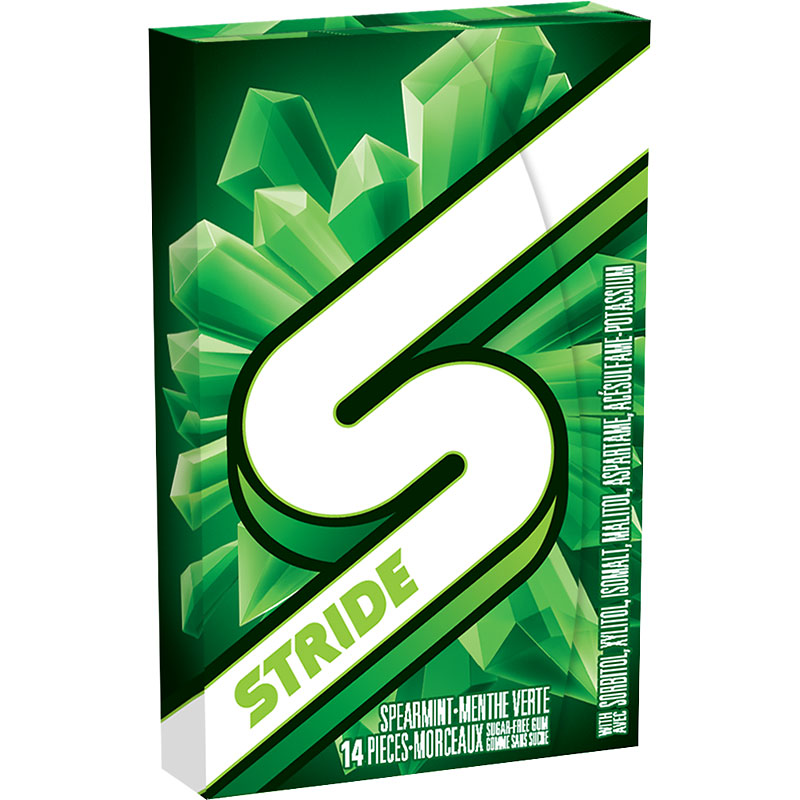 Stride Gum - Spearmint - 14 piece
